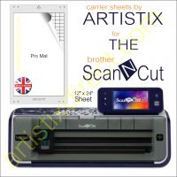 Artistix Pro 12 x 24 Carrier Sheet Cutting Mat For The Brother Scan N Cut ScanNCut