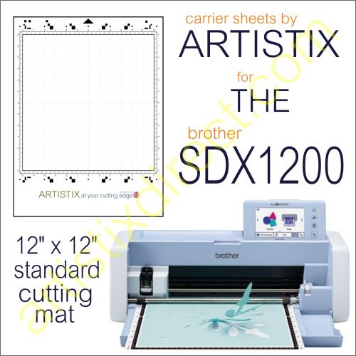 Artistix Pro 12 x 12 Carrier Sheet Cutting Mat For SDX1200