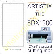 Artistix Pro 12 x 24 Carrier Sheet Cutting Mat For SDX1200 DUO Mat