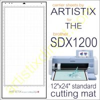 Artistix Pro 12 x 24 Carrier Sheet Cutting Mat For SDX1200 Mat