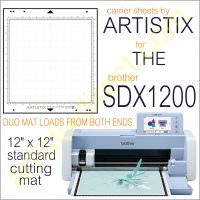 Artistix Pro 12 x 12 Carrier Sheet Cutting Mat For SDX1200 DUO Mat