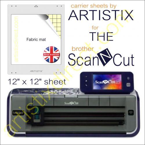 Artistix Fabric 12 x 12 Carrier Sheet Cutting Mat For The Brother Scan N Cut ScanNCut
