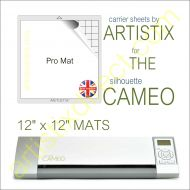 "12"" x 12"" Carrier Sheet Cutting Mat For The Graphtec Silhouette Cameo Artistix"