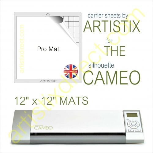 "12"" x 12"" Carrier Sheet Cutting Mat For The Graphtec Silhouette Cameo Artistix"