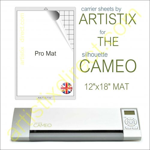 "12"" x 18"" Carrier Sheet Cutting Mat For The Graphtec Silhouette Cameo Artistix"