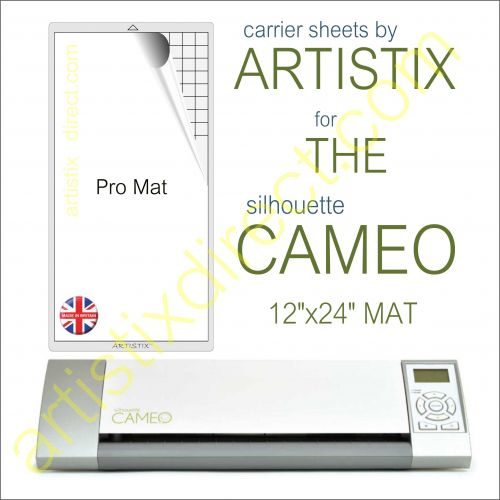 "12"" x 24"" Carrier Sheet Cutting Mat For The Graphtec Silhouette Cameo Artistix"