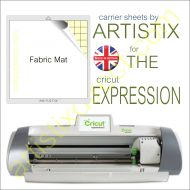 "12"" x 12"" Fabric Carrier Sheet Cutting Mat For The Cricut Expression Artistix"