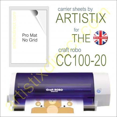 """8"""" x 12"""" Carrier Sheet Cutting Mat for The Graphtec Craft Robo CC100-20 Artistix"""