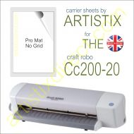 "8"" x 12"" Carrier Sheet Cutting Mat For The Graphtec Craft Robo  CC200-20 Artistix"