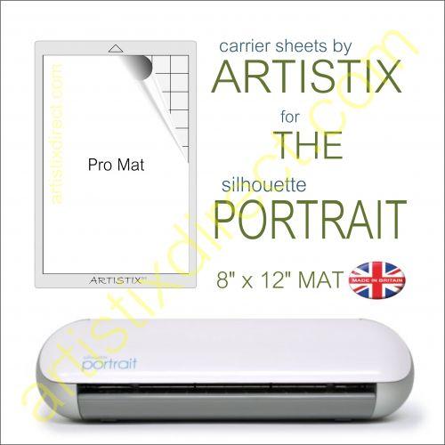 "8"" x 12"" Carrier Sheet Cutting Mat For The Graphtec Silhouette Portrait Artistix"
