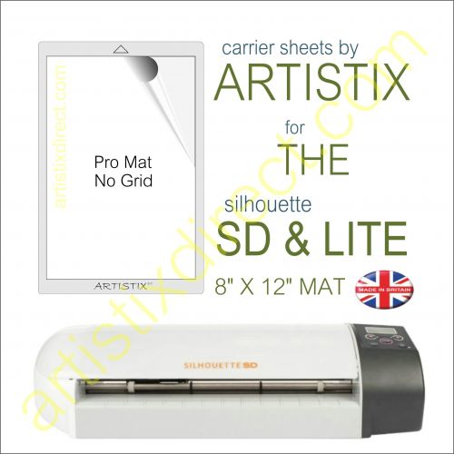 "8"" x 12"" Carrier Sheet Cutting Mat For The Graphtec Silhouette SD & Lite Artistix"